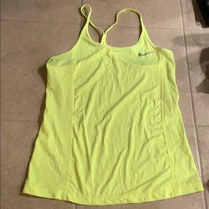 Nike neon tank top